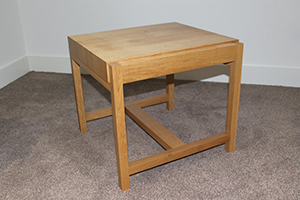 Handmade Solid Oak Table