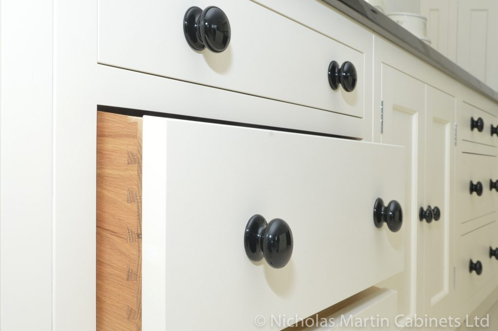 Traditional Kitchen Cabinets using In-frame style.