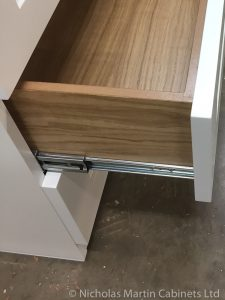 Example of Cabinet with Face-Fitted Drawer
